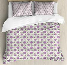 Geometric Pattern Duvet Cover Set Twin Queen King Sizes with Pillow Shams