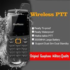 Guophone V1 IP67 Dust Water Proof GSM WALKIE TALKIE Dual Sim Radio Mobile Phone