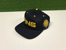 62d3d395dc6 New ListingRARE Strapback PING GOLF The 6th Annual Suns Scramble NAVY BLUE HAT  PingMan Logo