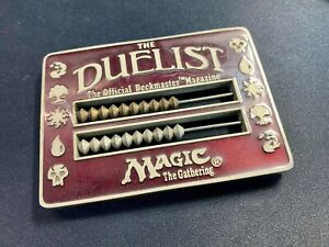 Magic The Gathering MTG Duelist Abacus Red Life Counter 1996 WOTC