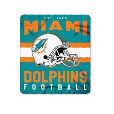 "New Style Football Miami Dolphins Fleece blanket Soft Throw Blanket 50"" x 60"""