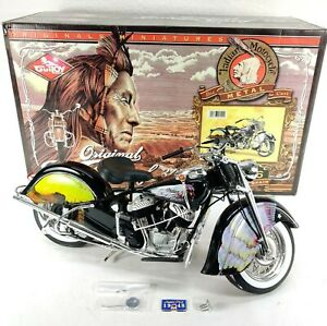 Guiloy 1948 Indian Chief Low Spirits Motorcycle 1:6 Diecast Model Rare Box