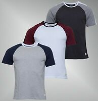 Mens Jack Wills Ribbed Neck Top Short Sleeve Jersey T Shirt Sizes from S to XXL