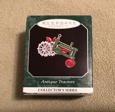 Antique Tractors Mini Miniature #2 Series Hallmark Ornament Mib 1998 Collector