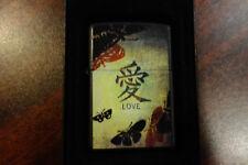 Chinese Love Character Zippo Lighter