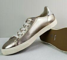 Coach Women's Metallic / Champagne Sneakers Size 8