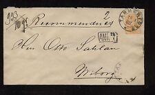 Finland  postal  envelope   1888                 AT0523