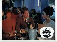 HAYDEE POLITOFF CHRISTIAN HAY LES JEUNES LOUPS 1968 VINTAGE LOBBY CARD #15