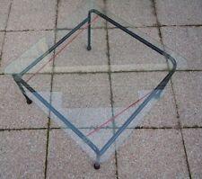 Table basse métal verre design Sweden slim innovator