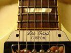 Gibson SG Guitar Tenon Cover Plate - Les Paul Custom - 2 ply White/Black