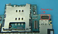 Repair solder connecteur 1 LCD iphone 3gs 3g micro soudure repair micro
