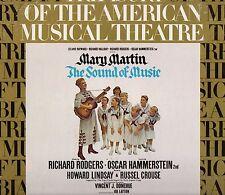 "MARY MARTIN ""THE SOUND OF MUSIC"" ORIGINAL BROADWAY CAST LP 1973 columbia"