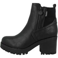 Dockers by Gerli 37CE221 Schuhe Stiefeletten Boots Stiefel black 37CE221-610100