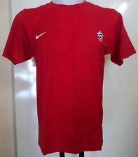 CSKA Mosca Basket Rosso T-Shirt Da Nike ADULTI TAGLIA MEDIA NUOVISSIMA