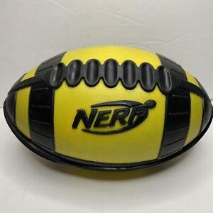 Nerf Weather Blitz Football Yellow And Black