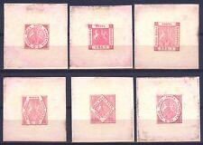 NAPOLI 1898 RISTAMPE ORIGINALI SASSONE R1/R6 CATALOGO €.1350 SERIE COMPLETA  002