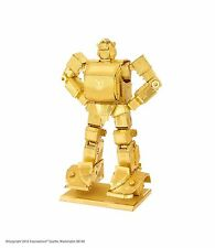 Fascinations Metal Earth 3D Steel Model Kit Transformers Autobots Gold Bumblebee