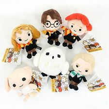 """Cute 6Pcs Set Harry Potter Plush Toy 5"""" Collection Doll Gift Harry Hermione Ron"""