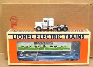 Lionel 6-52111 Ben & Jerry's Ice Cream Flatcar w/Trailer for NETCA O-Gauge NIB