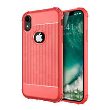 iPhone XR Hoesje Cube Cover Rood