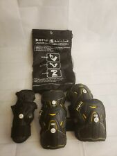 Bone Shiledz Pro Level 360 Protective Gear 3 Pack Skating Protection Size Small.