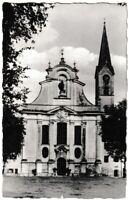 Ansichtskarte Diessen am Ammersee - Blick auf die Klosterkirche - schwarz/weiß