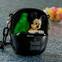 Tokyo Disney Land Limited The Haunted Mansion Mini Snack Case Mickey Mouse RARE