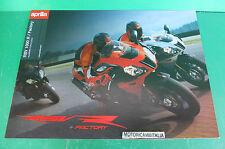 APRILIA RSV MILLE 1000 R depliant FACTORY BROCHURE CATALOGO CATOLOGUE MOTO