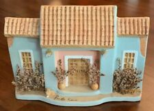 Puerto Rico Decorative Ceramic HOUSE Fasade   Souvenir Lightly USED, Excellent