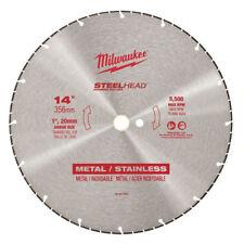 """Milwaukee 49-93-7840 14"""" SteelHead Diamond Cut-Off Blade"""