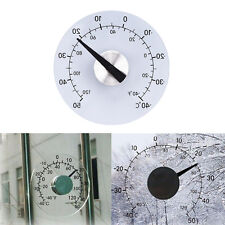 Clear ℉ ℃ Circular Outdoor Window Temperature Thermometer Weather Station ToolQh