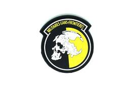 Military Sans Frontieres Metal Gear Solid PVC Airsoft Patch