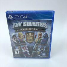 PlayStation 4 Toy Soldiers War Chest Hall of Fame Edition Brand New Sealed