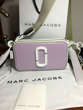 Genuine MARC JACOBS Snapshot ceramic Small Camera Bag purple multi hot sales.