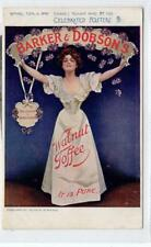 BARKER & DOBSON'S WALNUT TOFFEE: Celebrated poster advertising postcard (C29899)