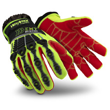 Hexarmor Ext Rescue 4013 Hi Vis Firefighter Extrication Gloves