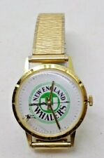 New England Whalers hockey Motion Activated VINTAGE 1970s Watch rare