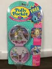 Vintage Bluebird Mattel Polly Pocket Ballerina Polly W/ Bath Float & Polly NEW