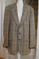 Vintage Hodges Lerry Wool Talybont Men's Tweed Jacket Sporting Country Hacking