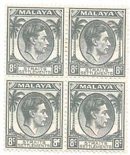 Malaya and Straits Settlements Block Stamps