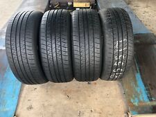 FOUR (4) 215/55/17 HANKOOK OPTIMO H431 TIRES 65% TREAD LEFT WITH FREE SHIPPING