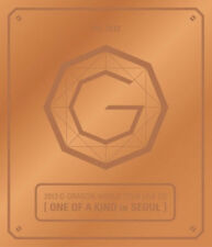 G-Dragon GD One Of A Kind in Seoul BRONZE World Tour Live CD K-POP BIG BANG