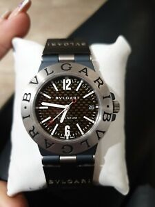 Reloj Bulgari Diagono Titanium TI 38 TA ( L9577) hombre