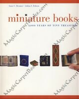 MINIATURE BOOKS Tiny Tomes HISTORY Illustrated BIBLIOGRAPHY Limited Edition
