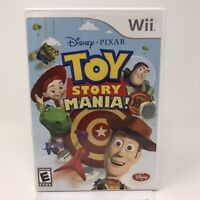 Disney Pixar Toy Story Mania (Nintendo Wii )  Complete Tested
