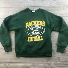 *VTG NFL Champion Green Bay Packers Crewneck Sweatshirt 90s Green Youth Medium