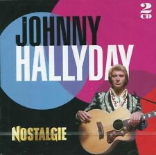 "CD ""Johnny Hallyday : Nostalgie"" (2 CD)   NEUF SOUS BLISTER"