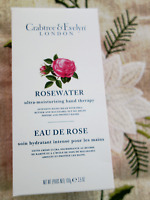 CRABTREE & EVELYN Rosewater ULTRA MOISTURISING HAND THERAPY 3.5 Oz NEW BOXED