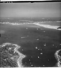 1972 Aerial Photo Agawam Point Bourne Massachusetts Sias Point