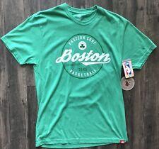 Boston Celtics Shirt Eastern Conference Basketball Sportiqe Green T-Shirt Medium